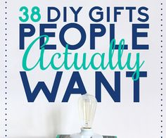 38 DIY Gifts People Would Want - DIY Ideas 4 Home