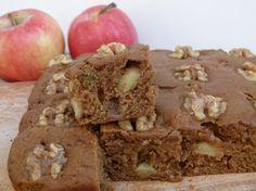 vegan apple spice snacking cake