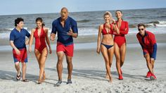 Priyanka Chopra Wows In Blink-And-Miss-It Baywatch Trailer Appearance #film #movies #loaded #television #dwaynejohnson #beach #news