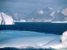 La Antártida contiene el 90% de toda el agua dulce del mundo