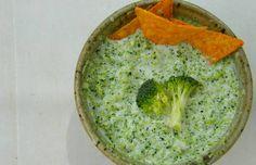 Brocomole, le guacamole de brocoli Guacamole, Sauce Dips, Sauces, Healthy Recipes, Healthy Food, Hummus, Good Food, Veggies, Vegan