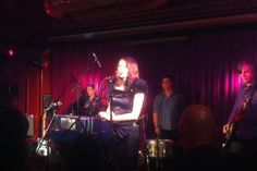 Album release concert at Roter Salon, Berlin – Sep 29, 2012 – Band: Andrea Schroeder (DE), Jesper Lehmkuhl (DK), Dave Allen (AUS), Chris Hughes (AUS), special guest: Catherine Graindorge (BE) Photo by Raimund Spierling