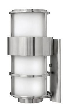 """Hinkley Lighting 1905-LED 1 Light 20.25"""" Height LED Outdoor Ambient Wall Sconce Stainless Steel Outdoor Lighting Wall Sconces Outdoor Wall Sconces"""