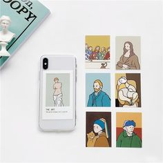 The Art Cards iPhone Case - iPhone XR