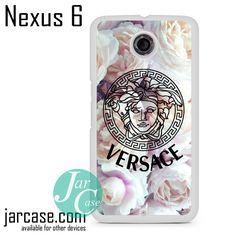 Versace Flower Arrt Phone case for Nexus 4/5/6