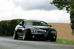 I once spent a very pleasant weekend in an Alfa Brera - it's one of the few cars I've driven where I can honestly say I wouldn't change a . Alfa Romeo Brera, Alfa Romeo 159, Alfa Brera, Alfa 159, Alfa Romeo Cars, Classic Sports Cars, Classic Cars, My Dream Car, Dream Cars