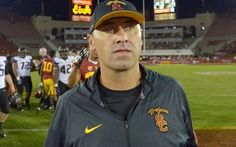 Steve Sarkisian. Former USC coach is joining Alabama's staff as an offensive analyst.