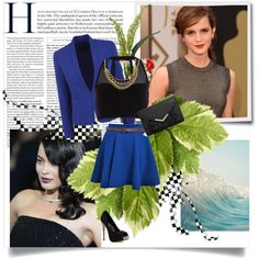So Elegant... by bluejess on Polyvore featuring moda, Pacha, Miss Selfridge, ASOS, black and Blue
