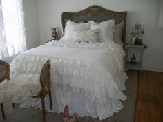 Perfect Ruffly Bedroom!