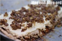 Oppskrift på smash-kake! Pudding Desserts, Homemade Cookies, Cake Smash, Cake Cookies, Food And Drink, Baking, Sweet, Recipes, Norway