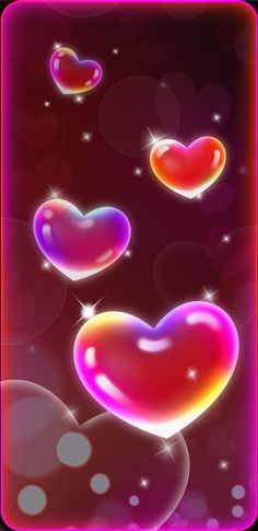 By Artist Unknown. Love Wallpaper Backgrounds, Heart Iphone Wallpaper, Pretty Phone Wallpaper, Phone Wallpaper Images, Cool Wallpapers For Phones, Rainbow Wallpaper, Purple Wallpaper, Cellphone Wallpaper, Heart Pictures