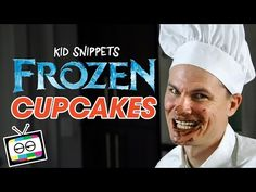 How To Make FROZEN Cupcakes (Kid Snippets) - YouTube