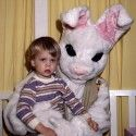 45 Easter Bunnies more terrifying than a crucified man coming back from the dead.--Made my day! LMAO!!!!