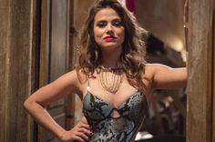 """""""Sinto tudo na pele"""", diz Laryssa Dias sobre papel de prostituta RAPHAEL DIAS/TV Globo/Divulgação"""