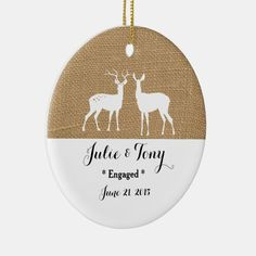 Engagement Gift Engagement Ornament - , #Ad, #Ornament#created#Gift#Shop #Ad