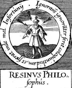 ALQUIMIA VERDADERA: Emblema 27. Rosino, filósofoUn ignorante golpea sin querer la calabaza y espera conseguir de ella la miel de las desdichas.