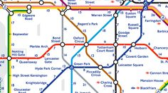 Transport for London has released another alternative version of the Tube map—and it's actually really useful. The London transport manager has created a 'Walk the Tube' map, which shows how long it takes to totter between stations.