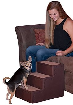 Pet Gear Easy Step II Extra Wide Stairs 2 For Cats And Dogs Up To 200 Pounds Chocolate You Can See Wha