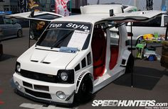 The Car Tuning In Japan - Speedhunters Suzuki Wagon R, Suzuki Carry, Tokyo Style, Kei Car, Japan Cars, City Car, Custom Vans, Car Tuning, Small Cars