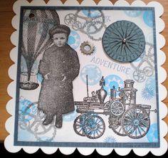 card steampunk