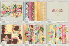 1 Exclusive Buffet at Ginger Scraps; http://store.gingerscraps.net/Twin-Mom-Scraps/ by TwinMomScraps!  You won't want to miss the NEW Buffet exclusively at Ginger Scraps!  There are 6 coordinating packs to choose from ON SALE for only $1!