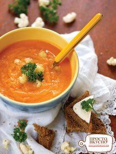 Просто&Вкусно - Супы - Яркий витаминный суп-пюре