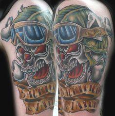 Amanda Orcutt - Skull Tattoo