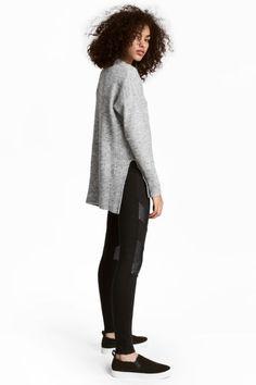 Jersey leggings - Black - Ladies | H&M IE 1