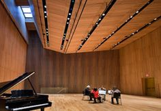 Interiors Awards 2012: Adaptive Reuse  DiMenna Center for Classical Music in New York designed by H3 Hardy Collaboration Architecture