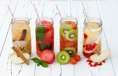 12 receitas de água saborizada refrescantes e deliciosas