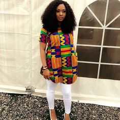 Stylish Ankara Top Style for Smart African Ladies  -  DeZango Fashion Zone