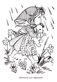 Beautiful French Coloring Book 25 Vintage French Coloring Book
