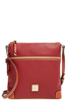 Dooney & Bourke Pebble Leather Crossbody Bag available at #Nordstrom