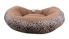 Uniquorn Leopard Round Cotton Kennel Warm And Comfortable All Seasons Can Be Used Dog Kennel Mat * Check out this great product. (This is an affiliate link)