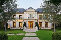 This French inspired home is located at 3518 Armstrong Avenue in the Highland Park neighborhood of Dallas, TX. Built in 2008, this elegant h...