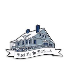 """""""Meet me in Montauk....."""" pin from @blueruinco Eternal Sunshine of the Spotless Mind forever... Available to purchase through their link in bio!"""