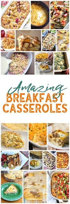 I LOVE breakfast casseroles! Makes hosting overnight guests so easy! Check out all of these amazing breakfast casseroles recipes! Breakfast For A Crowd, Breakfast Options, Breakfast Dishes, Breakfast Time, Breakfast Casserole, Best Breakfast, Breakfast Recipes, Breakfast Bars, Chef Recipes