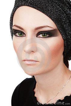 Stage makeup by Olga Ekaterincheva, via Dreamstime