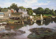 Cape Porpoise, by Ken Knowles
