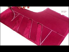 Blouse design, New Blouse Neck design cutting and stitching, blouse ki design, latest blouse design Blouse Back Neck Designs, Chudidhar Neck Designs, Neck Designs For Suits, Sari Blouse Designs, Fancy Blouse Designs, 1st Birthday Dresses, Kurti Sleeves Design, Types Of Sleeves, Stitching