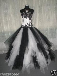 Exclusive Final Fantasy, Gothic, Emo Wedding/Ball Gown - 1
