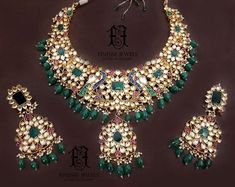 bridal sets & bridesmaid jewelry sets – a complete bridal look Indian Jewelry Sets, Silver Jewellery Indian, Gold Jewellery Design, Silver Jewelry, Silver Earrings, India Jewelry, Wedding Earrings, Pakistani Bridal Jewelry, Indian Wedding Jewelry