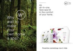 #WhyWait to make your own home a spa?  Preventive cosmetology now in #India!