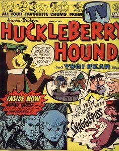 Hanna-Barbera characters were in comic books first.