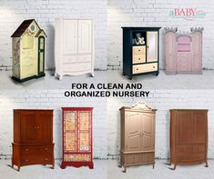 Shop aBaby's range of armoires offered in multiple #styles, #sizes, and #colors to keep your child's #clothes and belongings clean and #organized. #baby #armoire #cupboard  #kidwardrobe #kidcloset #kidfurniture #babygirl #babyboy #nursery #babyfurniture #wardrobe #armoires #storage #storagesolutions #wardrobe #clothes #furniture #love #nurseryrooms Nursery Armoire, Baby Armoire, Nursery Room, Kids Wardrobe, Kid Closet, Nursery Organization, Product Offering, Baby Furniture, Wardrobes