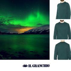 Viaggi di settembre! Girocollo lavabile lavatrice:http://bit.ly/2cI2141 #Settembre #AuroraBoreale #Norvegia