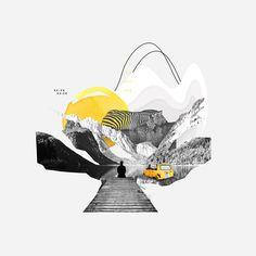 "I'm Marco Vannini ""Mavantri"", a digital collage artist and designer born in Venezuela currently based in Taggia, IT. Collage Artwork, Collage Artists, Collages, Travel Collage, Collage Illustration, Collage Design, Nouvel An, Futuristic Architecture, Cute Acrylic Nails"