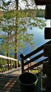 Nordic Adventures log cabin at Salla Outdoor Furniture, Outdoor Decor, Civilization, Finland, Cabins, Hunting, Bird, Adventure, Birds