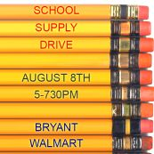 School Supply Drive - click for details #salinear