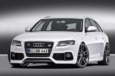 white Audi A4... I will have one of these some day